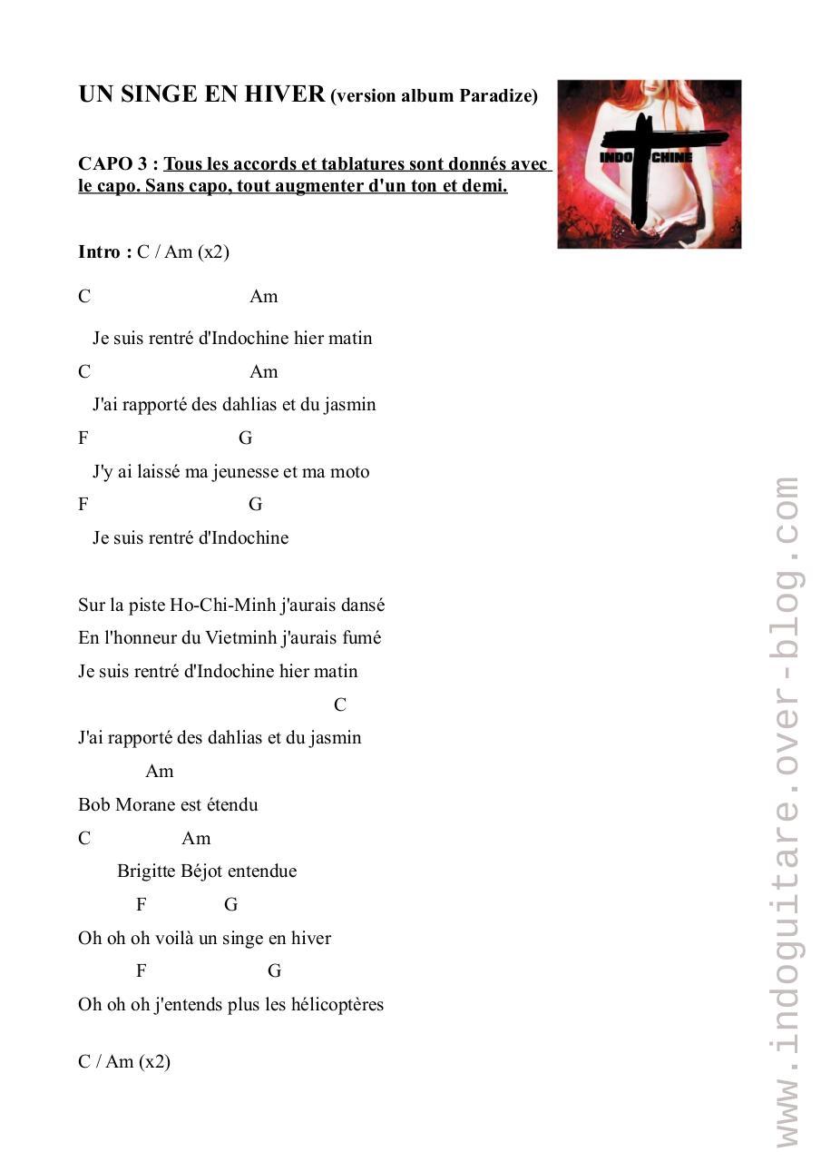 Un Singe En Hiver Indochine : singe, hiver, indochine, SINGE, HIVER, Fichier