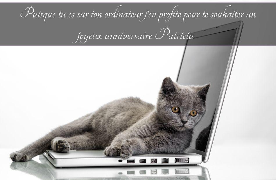 Cartes Virtuelles Joyeux Anniversaire Patricia