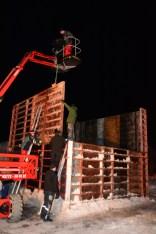 Bauen des Fundaments