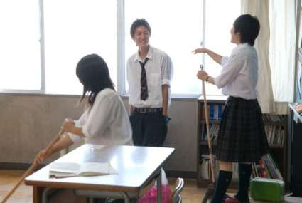 There are no janitors in Japan's schools