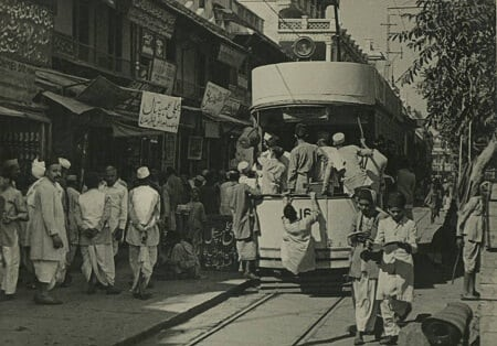 Trams were used in Delhi too