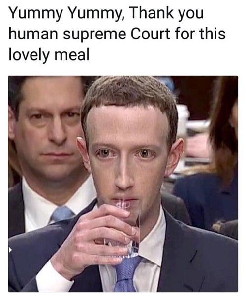 Mark Zuckerberg Lizard Meme  SEONegativocom