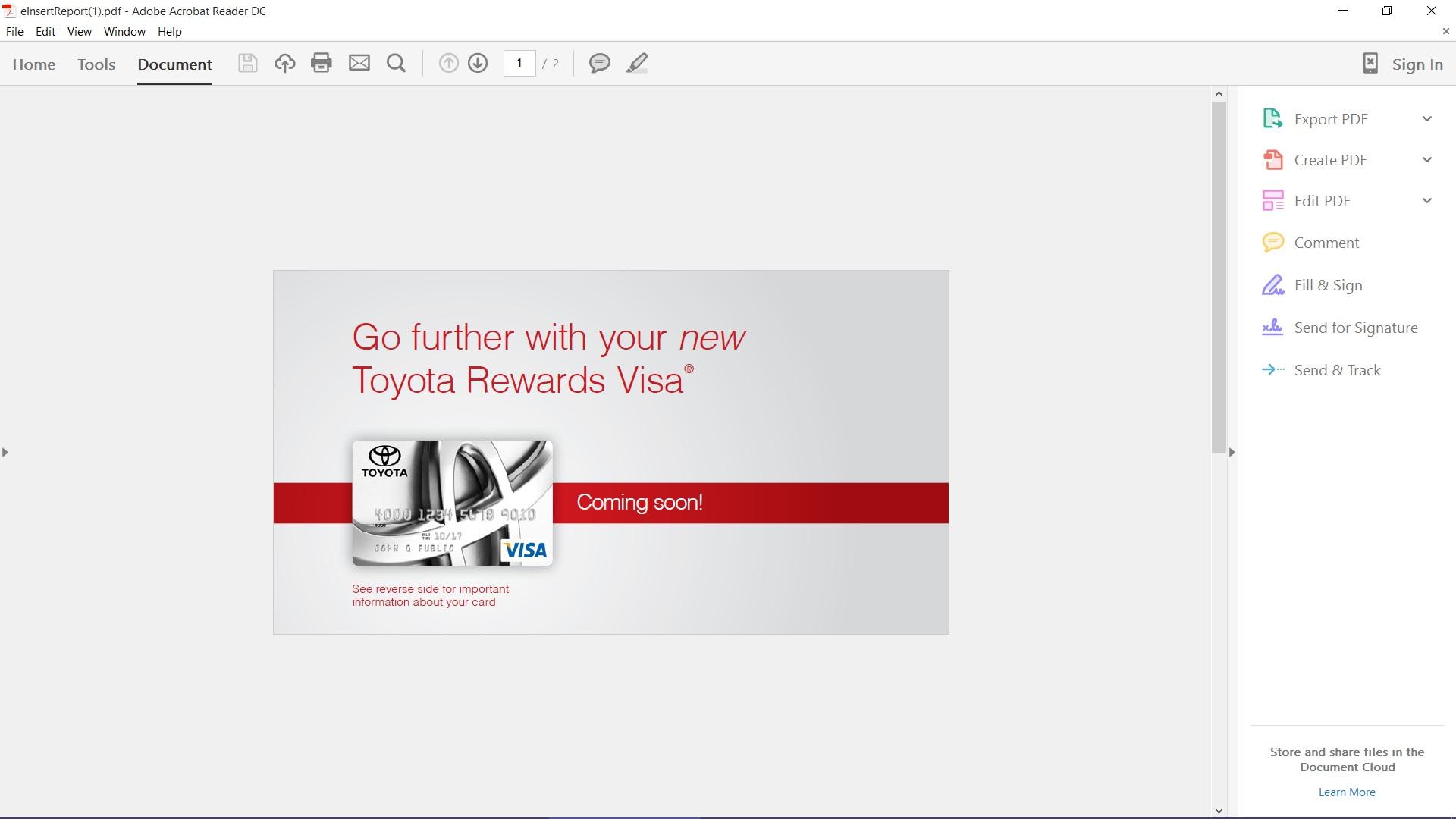 My Toyota Rewards Visa Login Upcomingcarshq Com