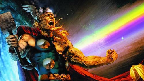 Thor rainbow
