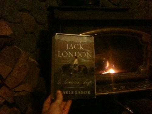 The new Jack London biography inspired me… to build a fire.