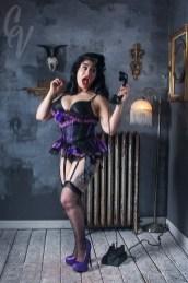 Model: DeeDee Cupcake // Taken at: Photo Bang Bang Las Vegas