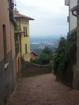 A view from Brunate
