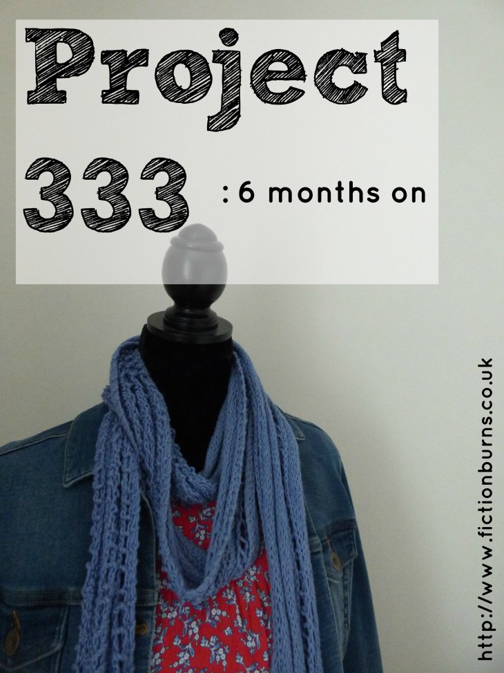 project 333 6 months on