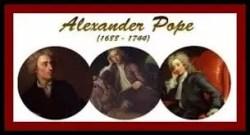 Mock epic alexander pope