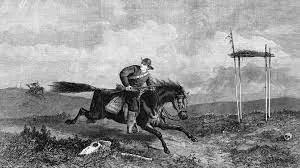 Good Friday, 1613 Riding Westward