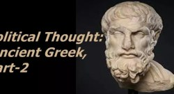 Political Thought: Ancient Greek