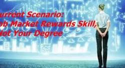 Job Market Rewards Skill