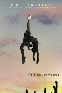 exit pursued by a bear, pursued by a bear, exit pursued by a bear book, pursued by a bear book, ek johnston, ek johnston books, ya books, young adult books, sexual assault books, ya fiction, ya book magazine, fictionist, fictionist magazine,