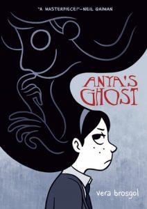 anyas ghost, anya's ghost, anya's ghost graphic novel, anya's ghost book, ya graphic novels, ya books, ya magazine, ya book magazine, fictionist