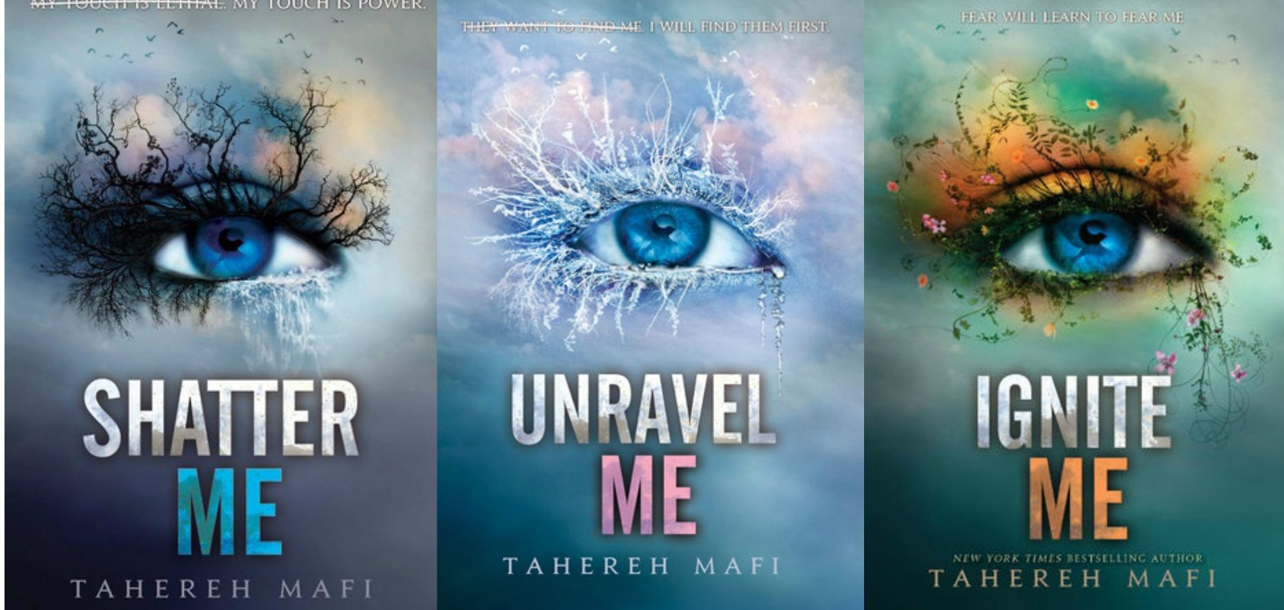 Tahereh Mafi to Write Three New 'Shatter Me' Books