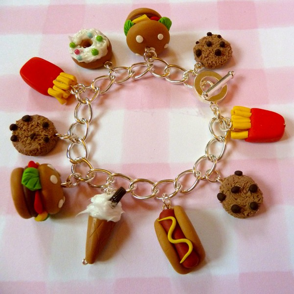 fast food jewelry
