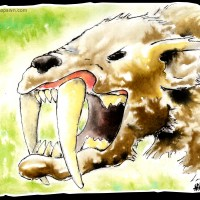 Saber Tooth Beast