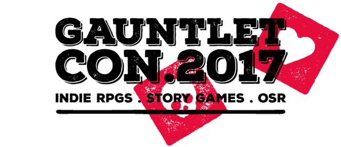 Gauntlet Con 2017 Logo