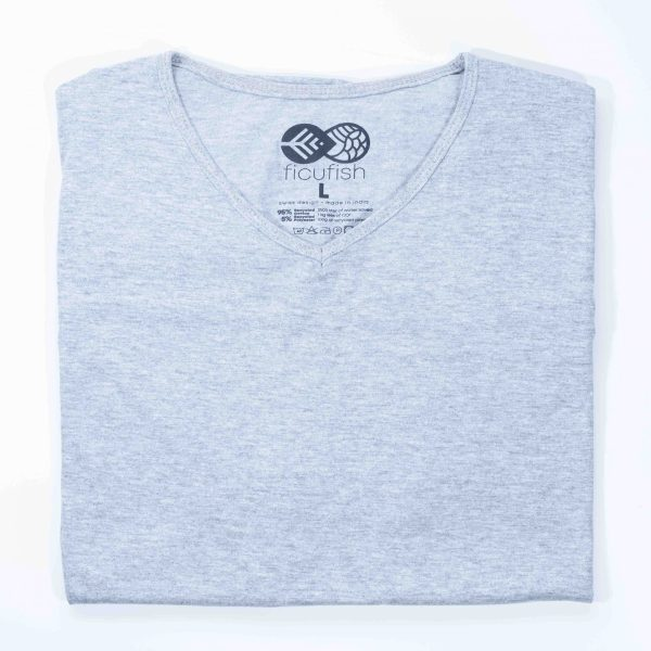 melange unisex dropneck t-shirt
