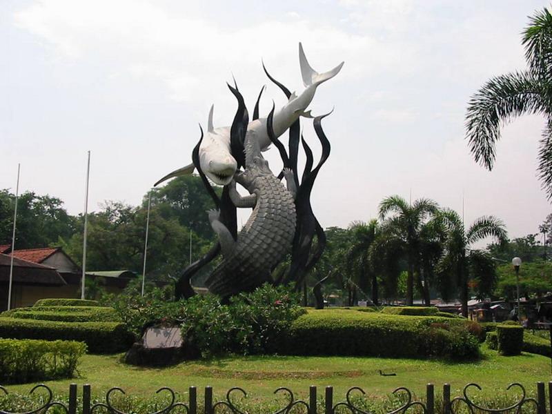 Asalusul kota Surabaya  Fida Zalfa