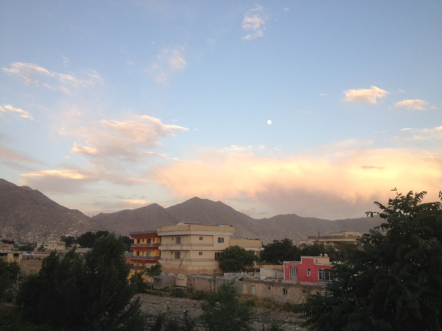 Moon Over Kabul