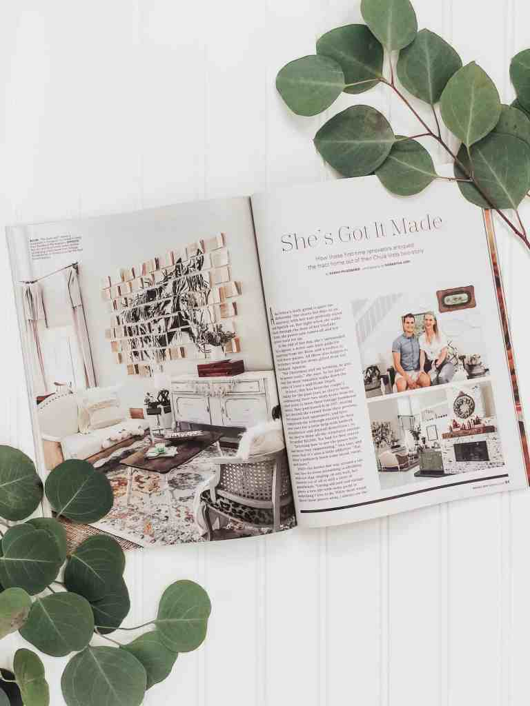 August 2019 home feature in San Diego magazine