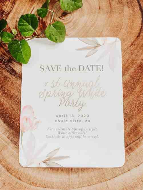 basicinvite.com save the date