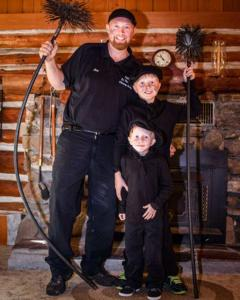Don The Chimney Sweeper and His Sons
