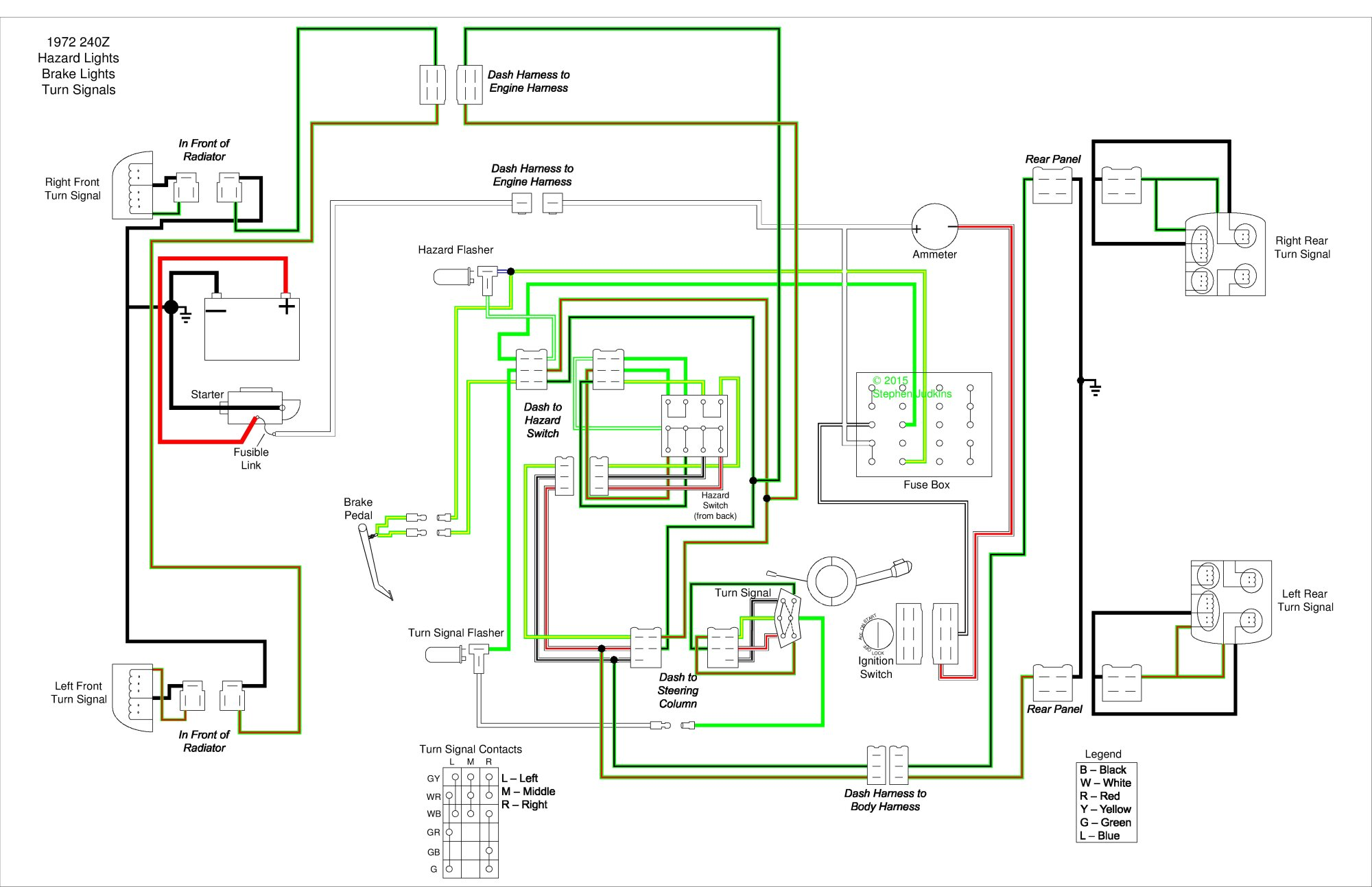 hight resolution of 240z wiring diagram backup light switch wiring diagram todaywrg 0626 240z wiring diagram 240z wiring