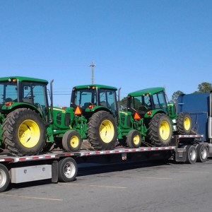 Cost to Ship Tractor per Mile