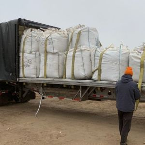 Shipping Hemp Biomass