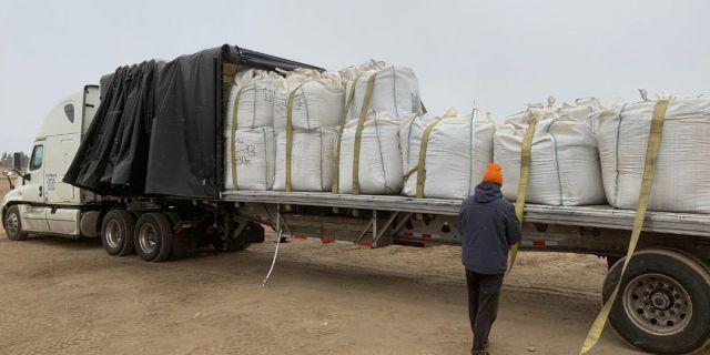 Shipping Hemp Biomass