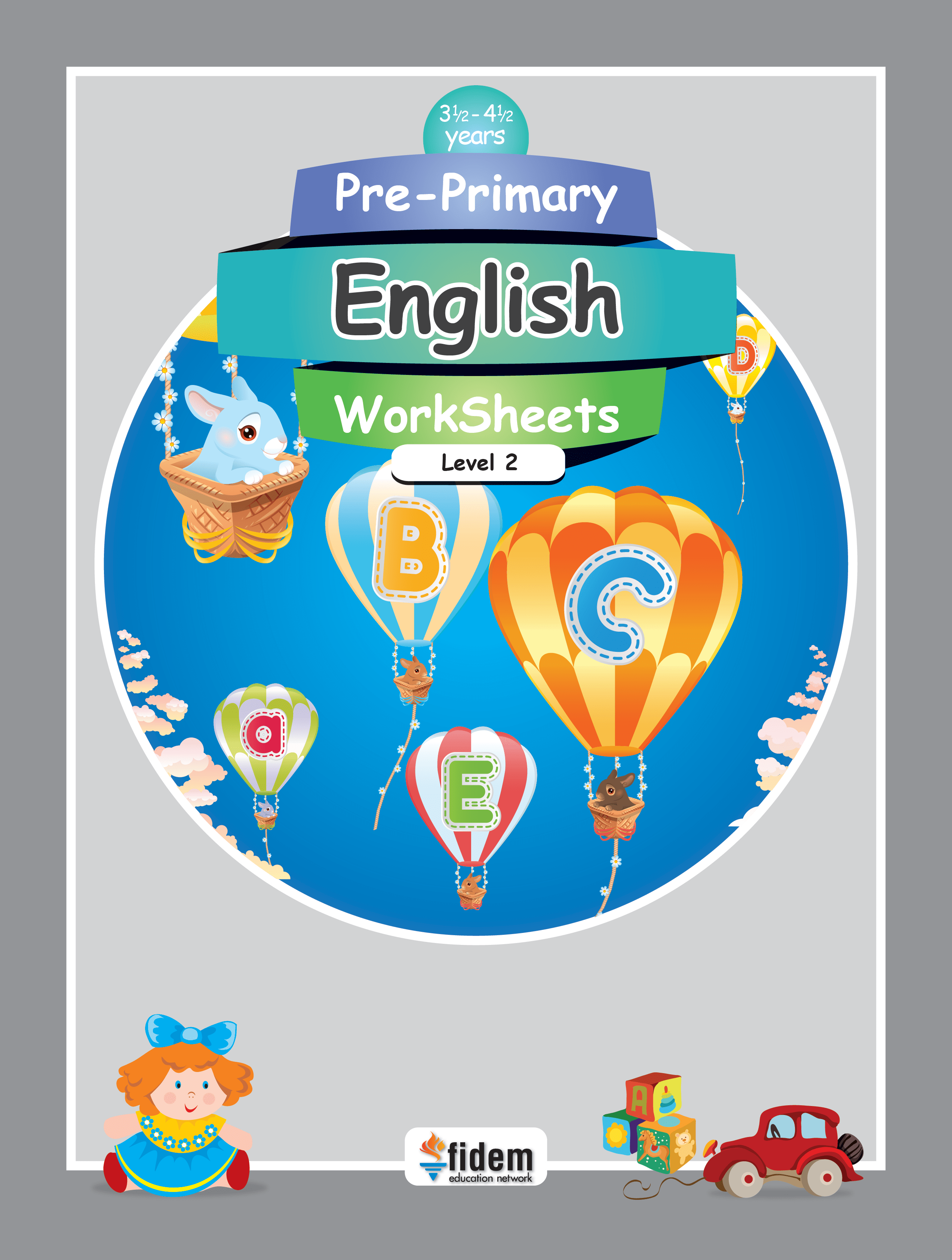 Pre Primary English Worksheets 2 Fidem Education Network