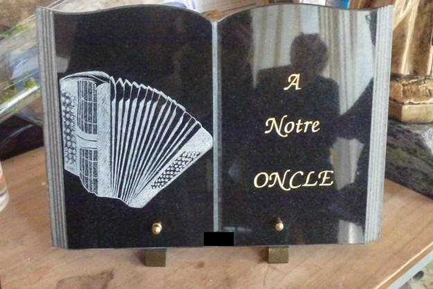 lithogravure accordéon