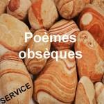 Poème funéraire pour obsèques