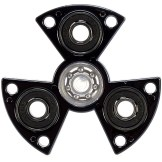 Fidget Spinner High Speed Metallic, Schwarz, sortiert