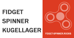 Fidget Spinner Kugellager