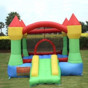 Bounceland Castle with Hoop Inflatable Bounce House Bouncer