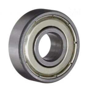 608 ZZ Bearings, Double Shielded