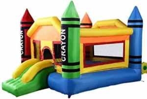 Mini Crayon Bounce House