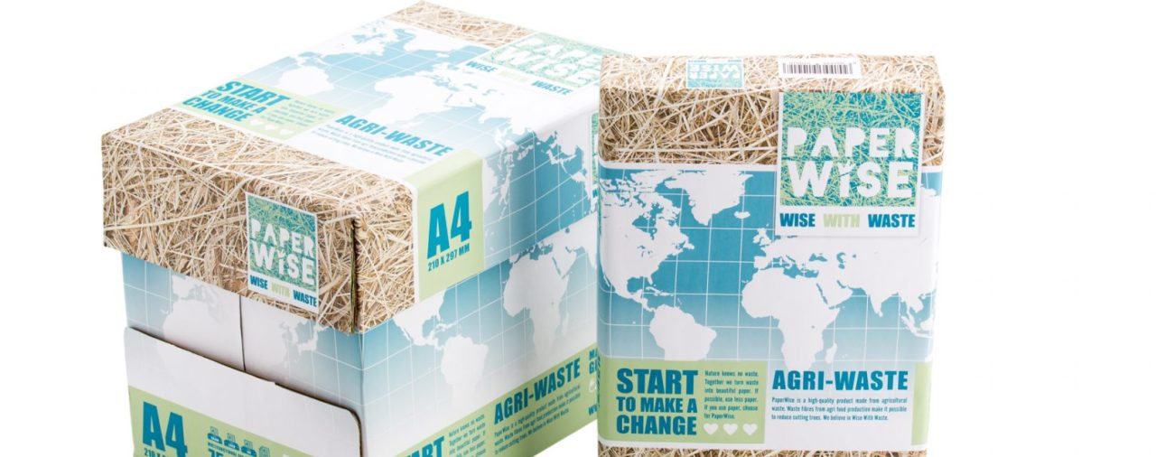 Nature knows no waste! A factory for graphic paper that reduces enviromental impact