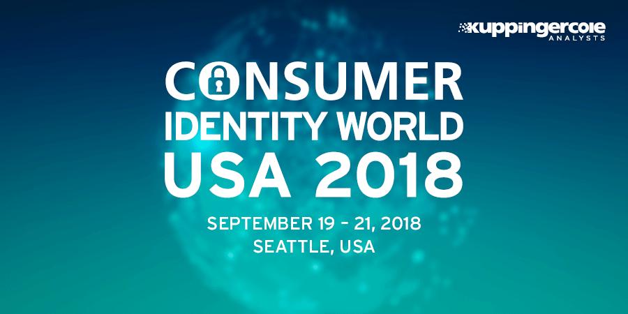 Kuppingercole Consumer Identity World 2018