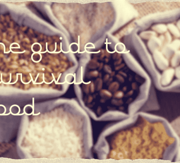 Guide to survival food