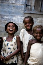 Happy kids from Madagascar