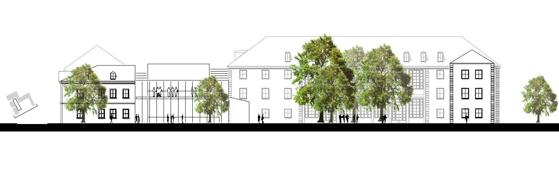Architekten Weimar studie zum neubau mensa weimar architekt maurice fiedler