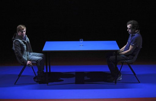 Conor MacNeill (L) and Stephen Rea in Half a Glass of Water