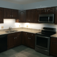 Under Cabinet Lighting - Fielder Electrical Services, Inc.