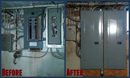 small resolution of install 400amp electric service