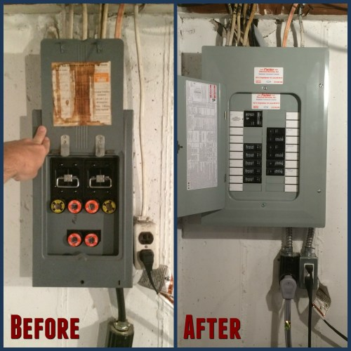 small resolution of fuse box to electric panel