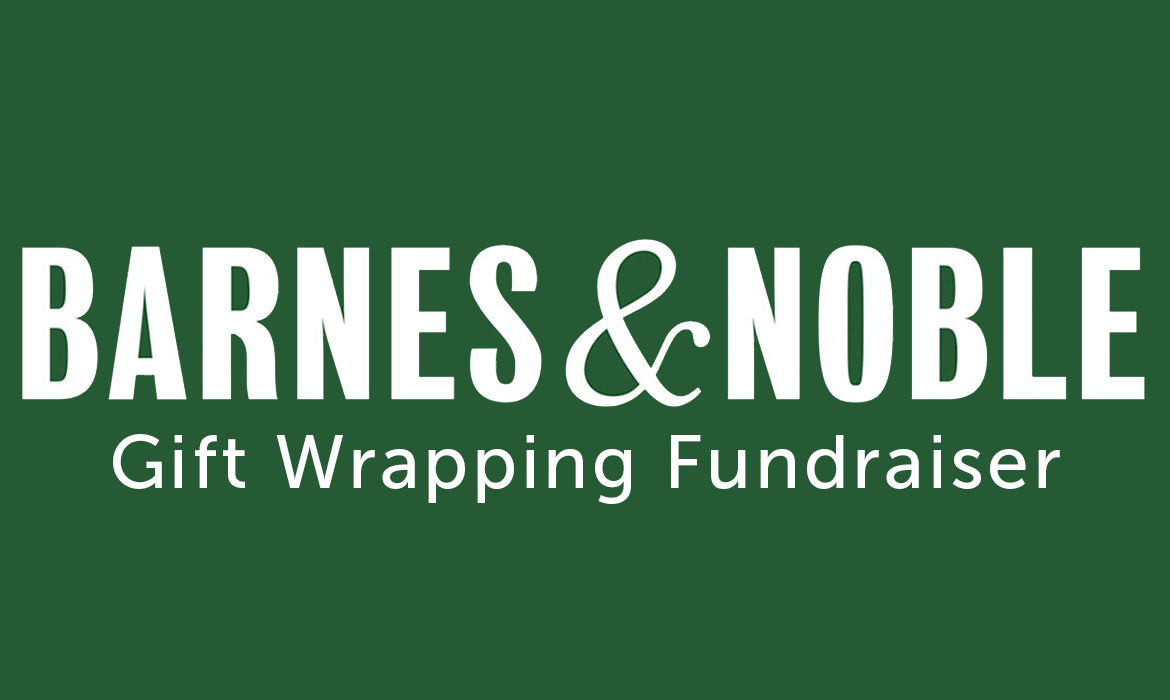 Barnes & Noble Gift Wrapping Fundraiser